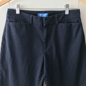Dockers Navy Chino Flat Front Pants Size 4